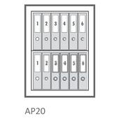 AP20 Grade 1 Fire Safe - Internal Capacity