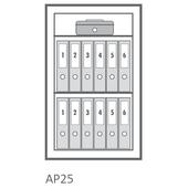 AP25 Fire Safe  Certified Grade 1 - Capacity