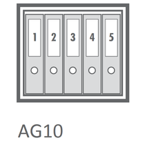 AG10 Certified Grade 1 Safe -Capacity View