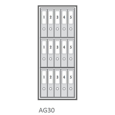 Wertheim AG30 Certified Grade 1 Safe - Capacity View